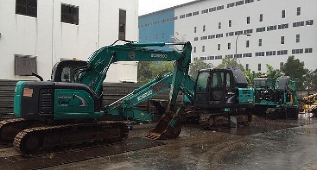 Kobelco Excavators